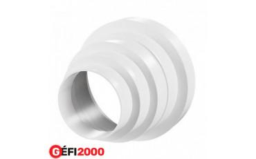 Lépcsős szellőzőcső szűkítő 80-150 mm műa. / 310 /