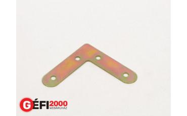Szegletvas 60x60   mm /2/ sík  /100db/